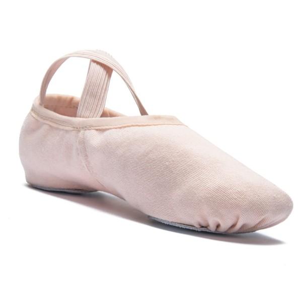 Rumpf Ballettschläppchen Leinen Elastico 1006